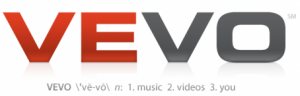 logo officiel de vevo