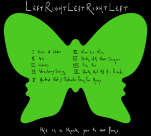 Coldplay - left right left right left