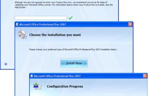 MS office key registration