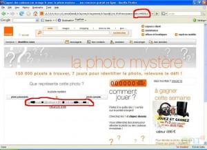 Photo Mystère - Hack des données utilisateurs