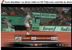 Rolland Garros en HD