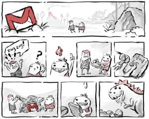 Translation Gmail Comic