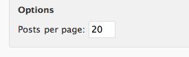 Nombre d'articles par page