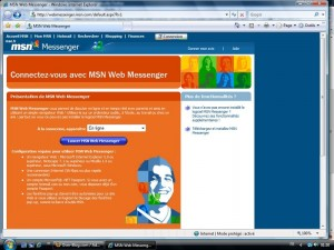 MSN Web Messenger