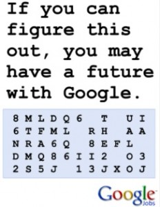 Google Job Code