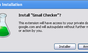 Chrome - Installation Extension Gmail