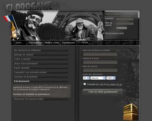 Clodogame - Page d'accueil