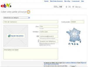 eBay - Site d'annonces gratuites