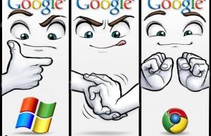 Humoristique: Google Chrome OS