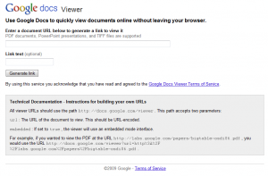 Google Viewer