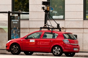 Google Street View Car à Chiado (Lisbon)