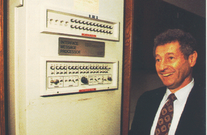 Leonard-Kleinrock-and-IMP1