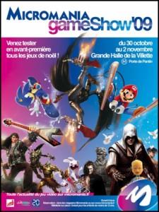 Affiche Micromania Games Show 2009