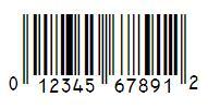 Le Code Universel des produits (UPC) ne contient que des chiffres et est formé de95 bits en tout