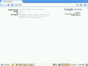 Google Chrome OS - Navigateur web