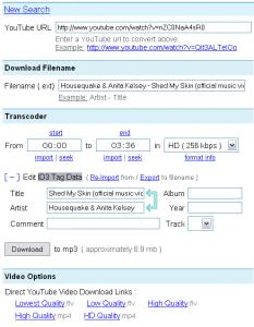 Dirpy - Téléchargement Bande son des vidéos YouTube