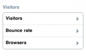 Google analytics sur iPhone