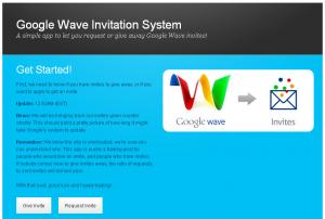 Obtenir une invitation Google Wave