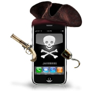image iphone pirate