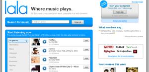 Page d'accueil de Lala.com