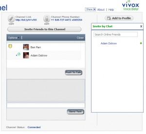 Vivox Voice Facebook App