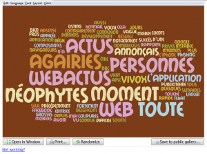 WebActus - Nuage de tags 3