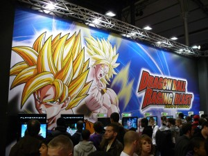 Dragon Ball Raging Blast au Micromania Game Show 2009
