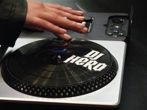 La platine DJ Hero