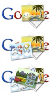 Doodle Google fêtes 2010