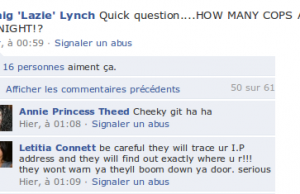 Fugitif sur facebook, mais que fait la police?