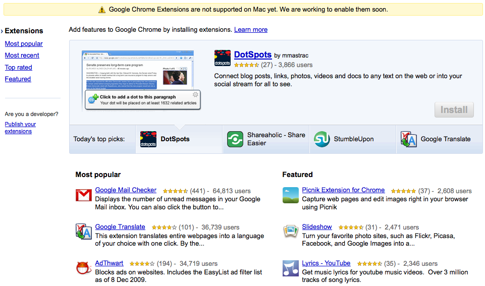 how to find google chrome extensions