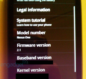 Google phone - Nexus One Photo 6