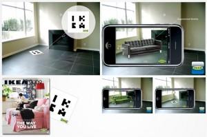 Application iKea en réalité augmentée