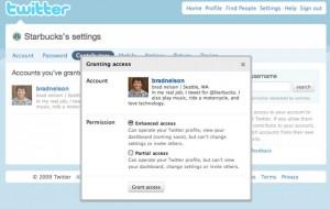 Twitter - Accès compte multi-contributeurs