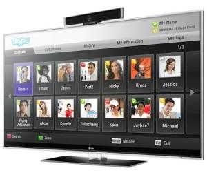 Skype débarque sur les télévisions LG