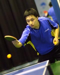Un vrai joueur de Ping Pong, pas comme moi :)