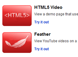 Youtube supporte l'HTML5
