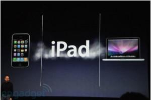 Keynote - Annonce iPad