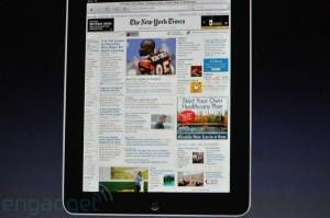 Keynote - iPad - Lecture journaux