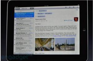 Keynote - iPad - Gestion des mails