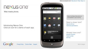 Boutique du Nexus One