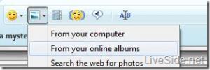 Windows Live Messenger Wave 4 - Partage de photos