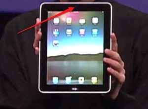 Apple iPad de Steve Jobs aurait une webcam