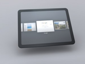 Google Chrome OS - Tablette Tactile