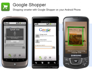 Application Google Shopper