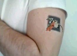Réalité augmentée tatouage
