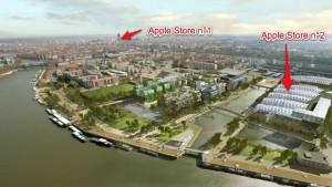 Second Apple Store à Lyon