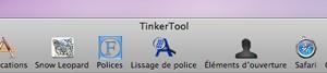 tinkertool - Afficher fonctions cachées de votre Mac