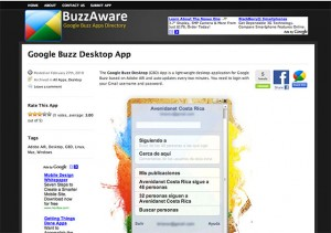 ScreenShot de BuzzAware