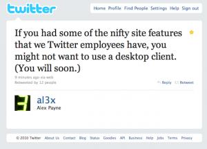 Al3X annonce une nouvelle interface Twitter